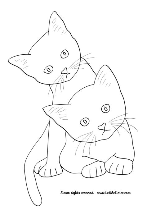 coloring pages of realistic cats realistic cat coloring pages az coloring pages