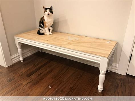 how to build an upholstered bench diy upholstered dining room bench how to build the frame