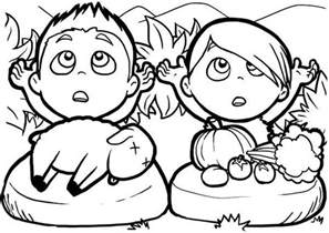 cain and abel coloring pages of abel and cain coloring page coloring sky
