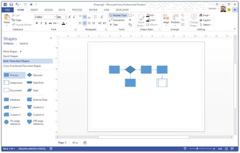 visio replace shape visio s new modern interface office blogs
