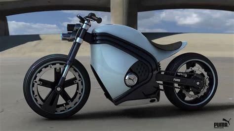 Puma Motorrad by Puma Motorcycle Concept Youtube