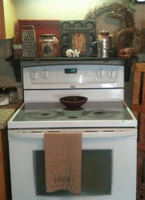 Stove Shelf by Shutter Shelf Stove Primitive Pretty