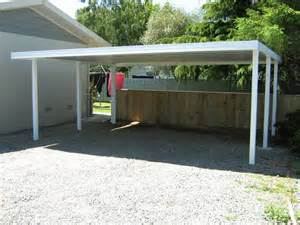 Flat Roof Carport 21 Simple Flat Roof Carports Pixelmari