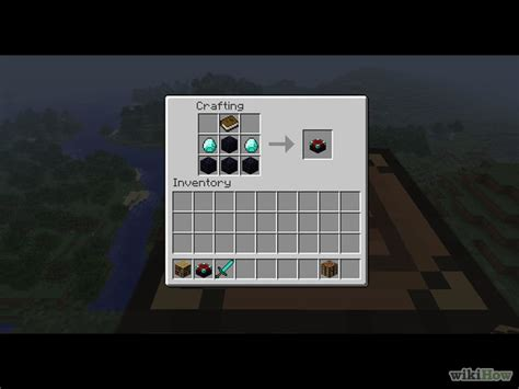 How To Build An Enchantment Table how do you make an enchantment table in minecraft pictures