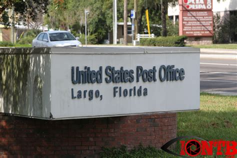 Largo Post Office by Hazardous Materials Response Team At Us Post Office In