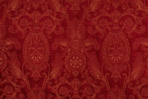 beacon upholstery beacon hill velvet stitch upholstery fabric in scarlet