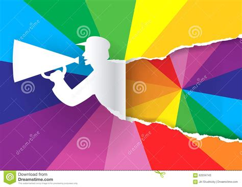 promotion color promotion man with color swatch stock vector image