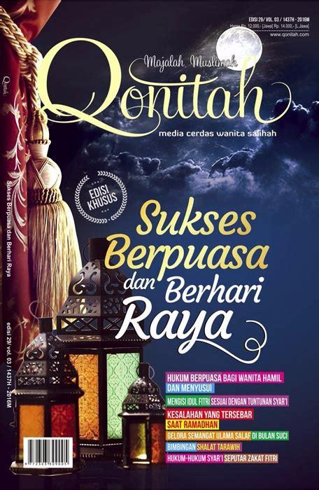 Promo Wanita Dirindu Surga katalog majalah muslimah qonitah