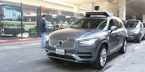 volvo suv  fatal uber crash  factory safety equipment deactivated business insider