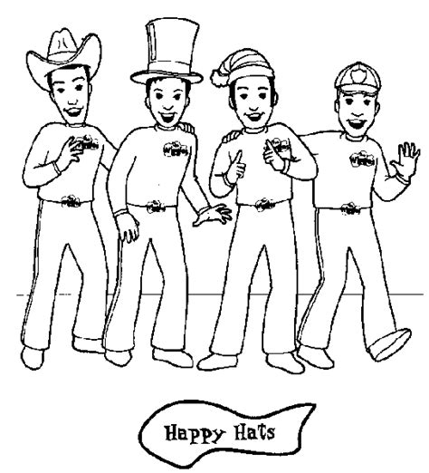 wiggles coloring pages wiggles coloring pages for and friends