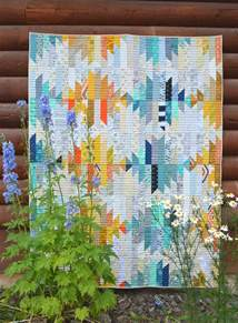 american patchwork and quilting wavelength quilt color