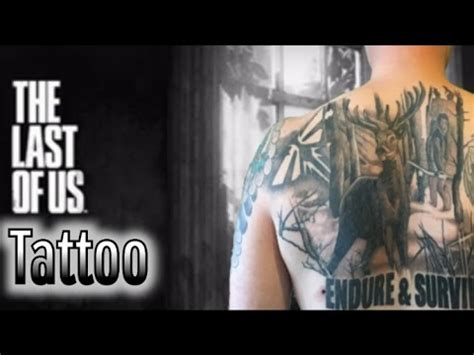 tattoo of us youtube my last of us tattoo thank you for 1000 subscribers
