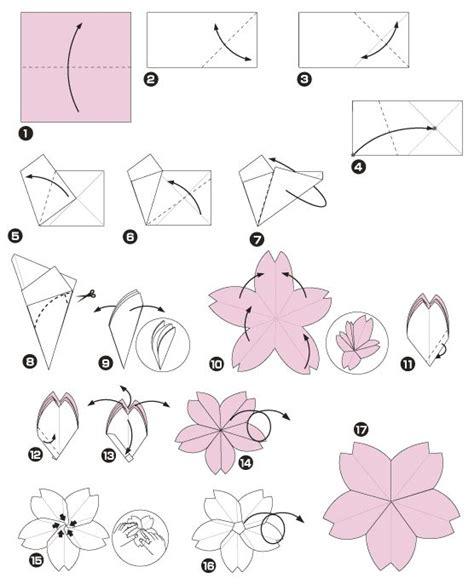 Fleur Origami - 67 best fleurs de cerisier images on cherry