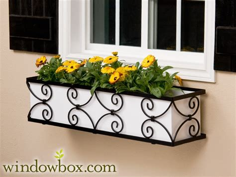 metal window box planters the garden gate window box cage square non tapered design