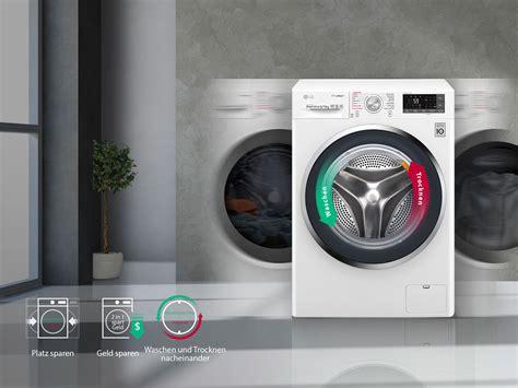 Waschmaschine Und Trockner In Einem by Lg Waschtrockner 8 Kg Waschen 5 Kg Trocknen I Truesteam