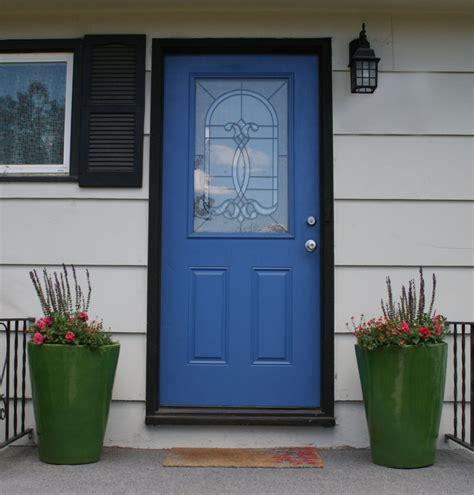 Blue Exterior Doors The Blue Door Uniquely You Interiors
