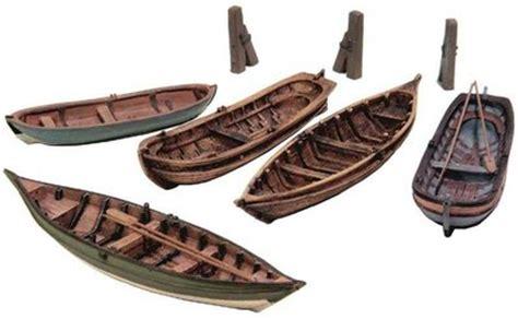 roeiboot modelbouw artitec roeiboten 5 stuks bouwpakket 1 87 modelschepen
