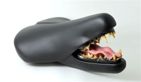 most comfortable motorcycle seats bizarre bicycle seat sculptures by designer clem chen
