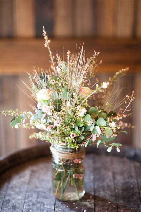 country centerpieces 16 masterful jar wedding ideas weddingsonline