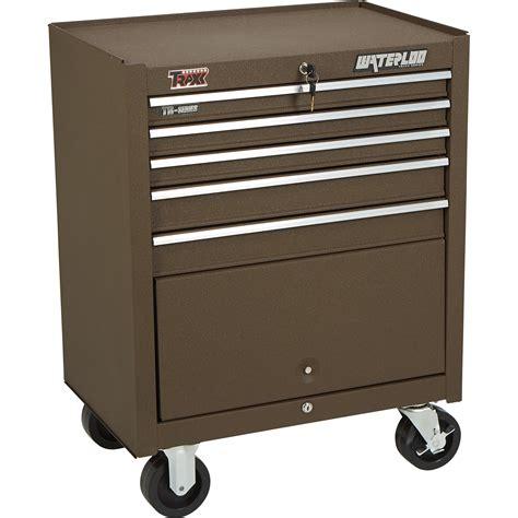 waterloo 5 drawer tool box waterloo 27 1 2in 5 drawer bottom tool box 27 1 2in w x