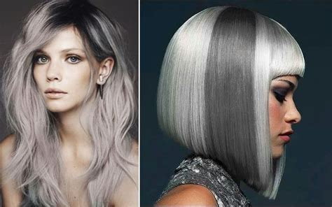 popular trending gray hair colors best hair color ideas amp trends in 2017 2018 of grey hair