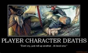Player character deaths d amp d dungeons dragons character d