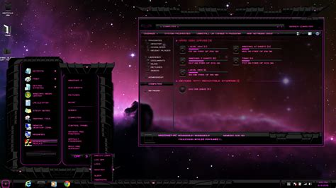 pc glass themes download windows 7 theme pink dark glass updated may 4 2015 by
