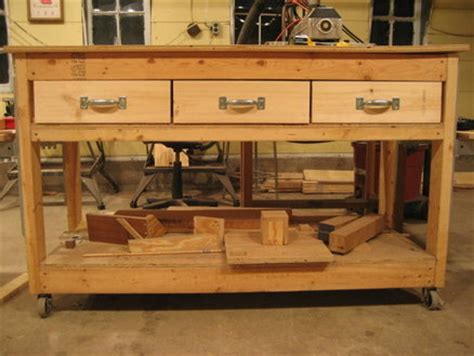 Building Drawers For A Workbench by Woodwork Workbench Drawers Plans Pdf Plans