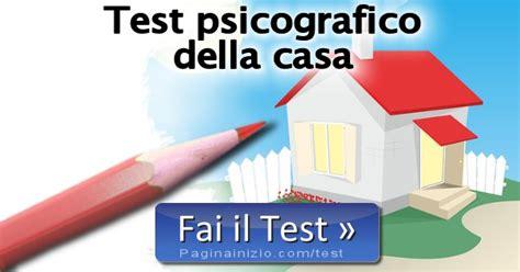 test della casa test psicografico della casa
