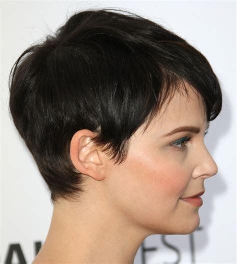ginnifer goodwin short hair back view side view of ginnifer goodwin s pixie hair inpirations