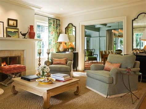 hgtv designer portfolio living rooms living room with fireplace and decorative vertical mirrors