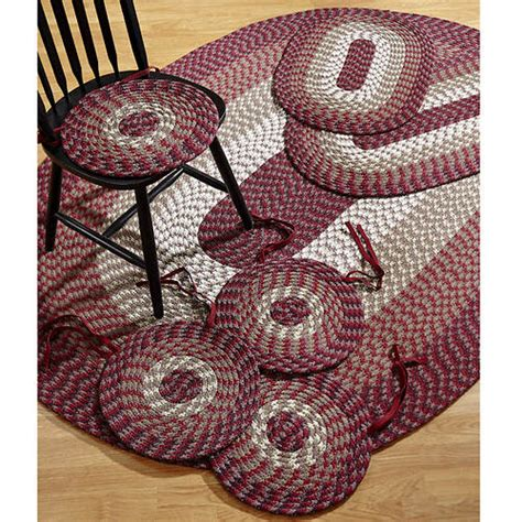 3 braided rug sets alpine 7 braided rug set stoneberry