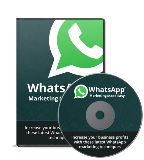 tutorial whatsapp marketing social networks courses methods