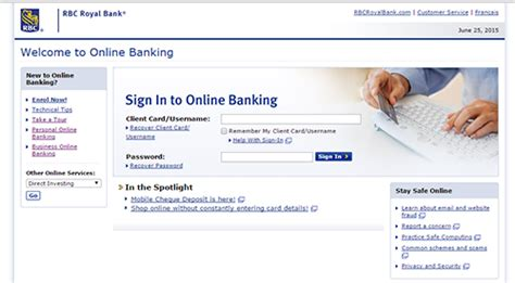 royal bank of canada login rbc royal bank banking sign in bankloginpage