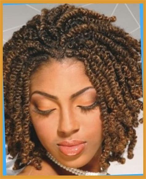 American Twist Hairstyles by Two Strand Twist Back Wallpaper