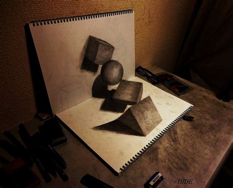 3d Sketches On Paper by 25 Stunning 3d Optical Illusion Drawings Top Design