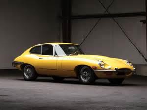 Jaguar E Type Yellow Classics Jaguar E Type Fixed Coupe