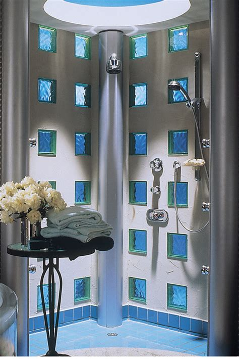 Design Ideas With Glass Blocks | 5 design ideas to modernize a glass block wall or window