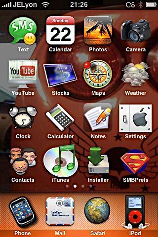 cartoon themes cydia iphone themes