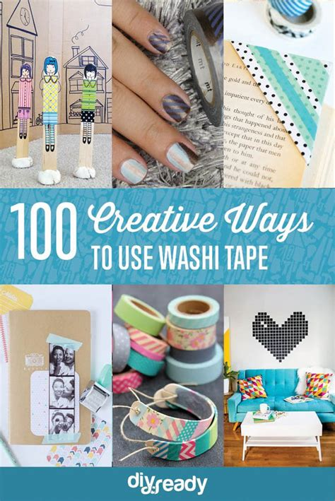 how to use washi tape 100 creative ways to use washi tape diy crafts