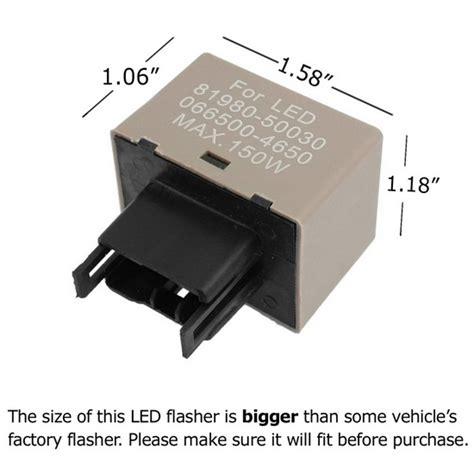 signal light flasher relay toyota lexus 8 pin 12v electronic led flasher blinker