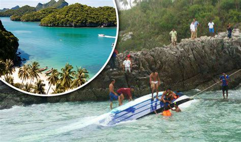 thailand news boat crash breaking news tourists feared dead after speedboat
