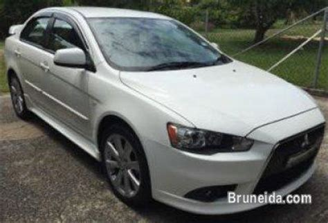 mitsubishi brunei 2013 mitsubishi lancer ex gt auto white cars for sale in