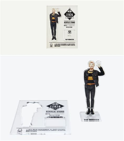 Acrylic Stand Bts Official 2nd Muster Bts Acrylic Standee Jimin Suga bts acrylic stand 2nd muster zipcode 22920 official
