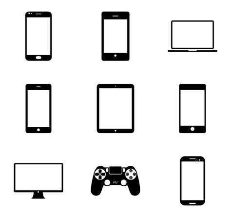 smart mobile device mobile device icons 442 free vector icons