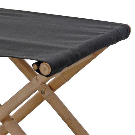 sgabello bar pieghevole sgabello da giardino pieghevole bamb 249 nero sedia