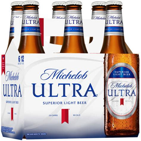 how many carbs in michelob ultra light michelob ultra superior light beer 12 fl oz 6 pack