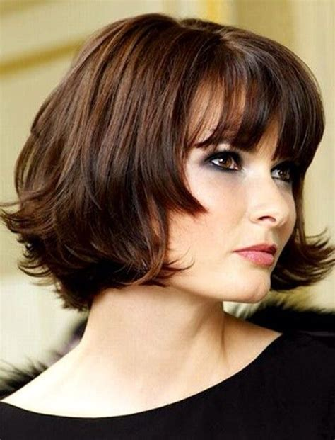 hair styles for protruding chin best 25 layered bob bangs ideas on pinterest longer