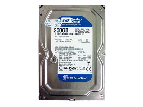 Harddisk Ata 250 Gb b1131 harddisk sata 250gb western digital v 253 kup pc procesor絲 urs konektor絲