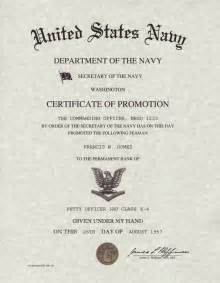 promotion certificate template officer promotion certificate template army promotion